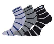Buy Table Tennis Clothes - Men's Socks [3 PK] for Badminton