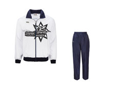 Men's Table Tennis Track Suit [WHT] TTS8006-1