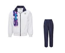 Men's Table Tennis Track Suit [WHT] TTS8007-1