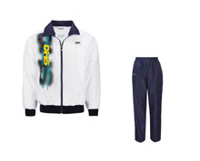 Men's Table Tennis Track Suit [WHT] TTS8008-1