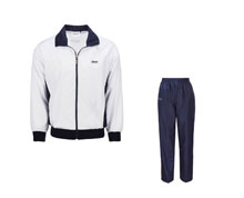 Men's Table Tennis Track Suit [WHT] TTS8009-1