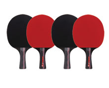Buy Ping Pong Paddle - LNX BD003S x 4 for Badminton
