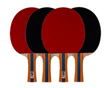 Buy Ping Pong Paddle - DRIVE SET OF 4 for Badminton