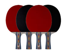 Ping Pong Paddle - COMBAT SET OF 4