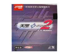 Table Tennis Rubber - [BLACK] DHS DIPPER2-3